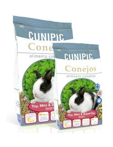 Cunipic Premium Conejos Baby Toy, Mini y Supertoy