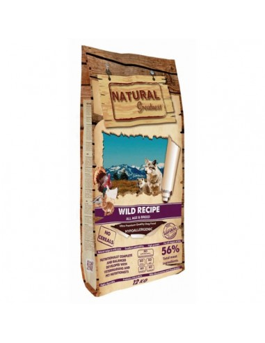 Natural Greatness Receta Salvaje Ultra Premium