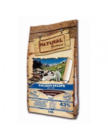 Natural Greatness Salmón Sensitive Mini Ultra Premium