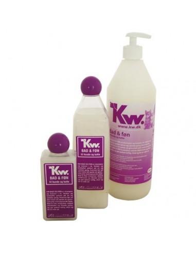 Champú y acondicionador BAD & FON de Kw