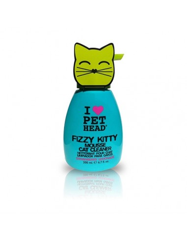 Pet Head: Fizzy Kitty Mouse. Espuma de champú para gatos