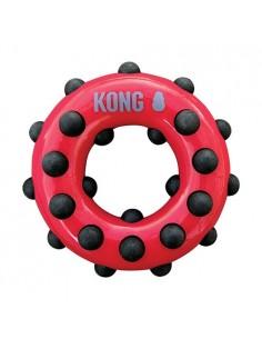 Kong Dotz Circle Large: masticadores texturizados para perros