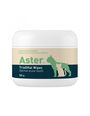 ASTER TRISOFTAL WIPES 50 TOALLITAS VETNOVA