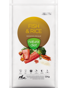 Natura Diet Adult  Fish & Rice