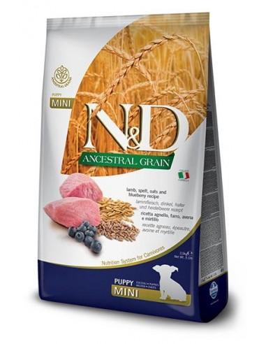 Farmina N&D Cordero y Arandano Puppy Mini Low Grain