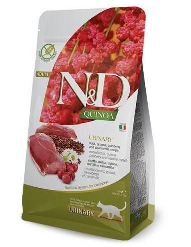 Farmina N&D Pato y Quinoa Urinary Grain Free