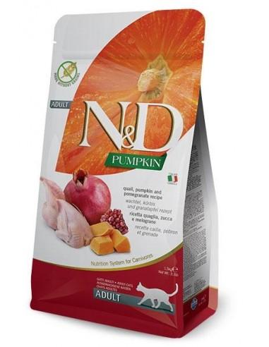 Farmina N&D Calabaza y Codorniz Cat Grain Free