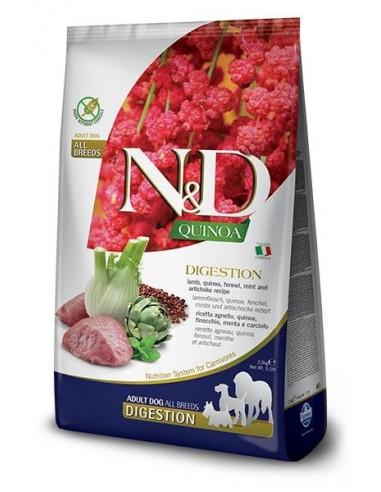 Farmina N&D Grain Free Dog Quinoa Digestion Cordero