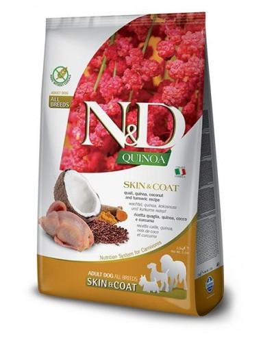 Farmina N&D Grain Free Quinoa Dog Skin Coat Codorniz