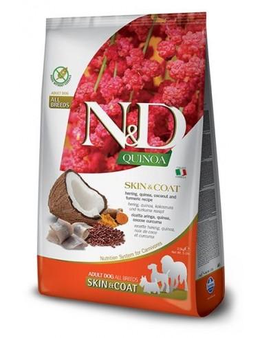 Farmina N&D Grain Free Quinoa Dog Skin Coat Pescado