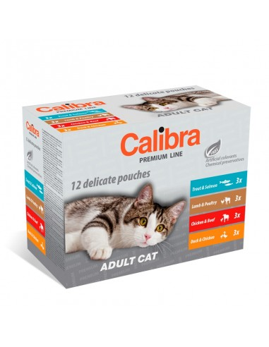 Calibra Cat Sterilised Multipack Sobres