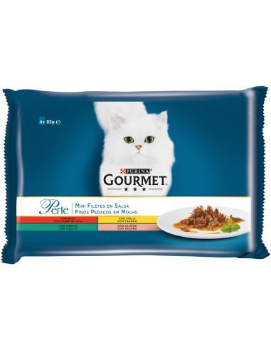 Purina Gourmet Perle Finas Láminas Salsa  Multipack