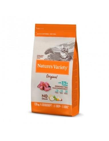 Nature's Variety  No Grain Cat Original Esterilizado Atun