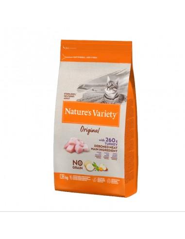 Nature's Variety  No Grain Cat Original Esterilizado Pavo