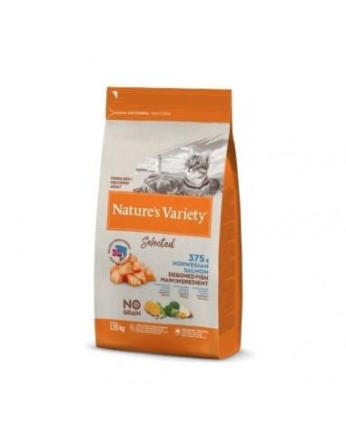Nature's Variety Selected Cat Esterilizado Salmon