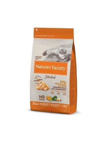Nature's Variety Selected Cat Esterilizado Pollo