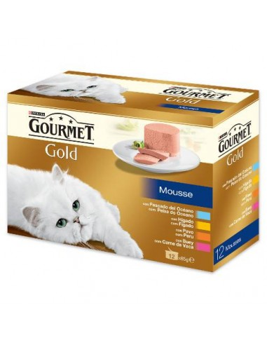 Purina Gourmet Gold Mousse Multipack