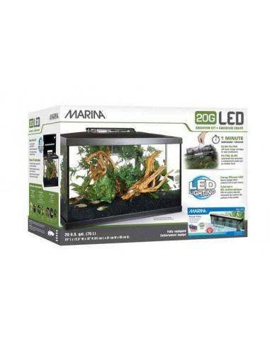 Marina LED 20G Kit Acuario 75 Litros