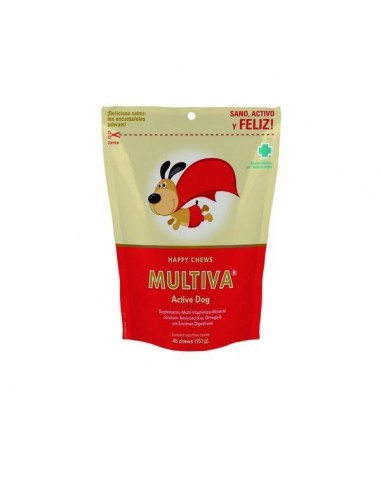Multiva Active Dog 45 Chews.