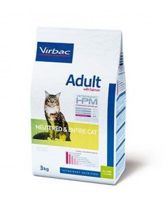 Veterinary HPM Adult with Salmón Neutered & Entire Cat