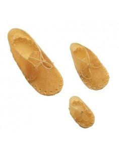 Zapatillas de Piel Prensada