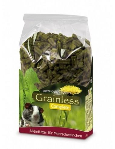 Alimentación Grainless Cobayas de JR Farm