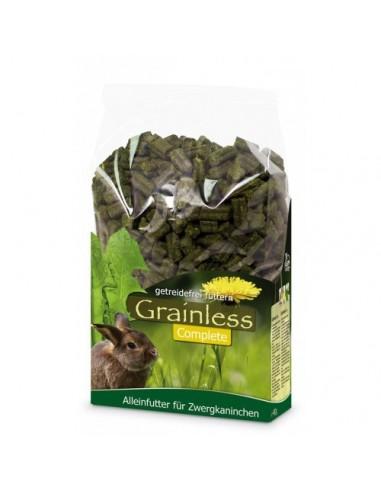 Alimentación Grainless Conejos Enanos  JR Farm