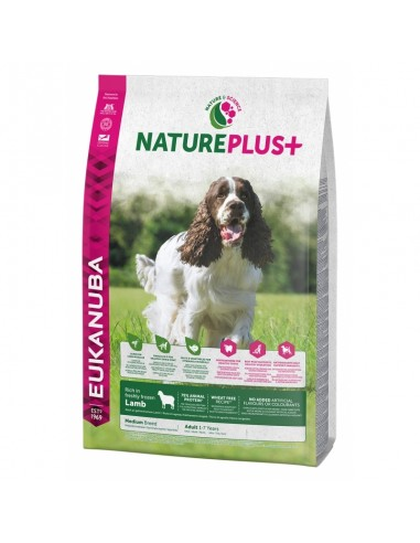 Eukanuba Nature Plus Adult Medium Cordero