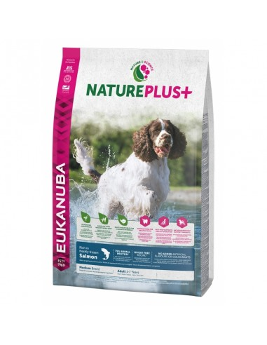 Eukanuba Nature Plus Adult Medium Salmón