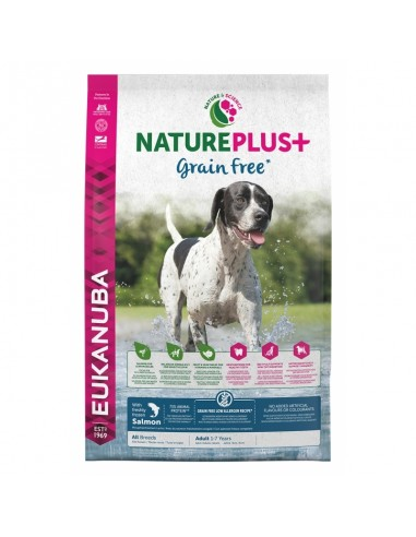 Eukanuba Nature Plus Grain Free Canine Adult Salmón