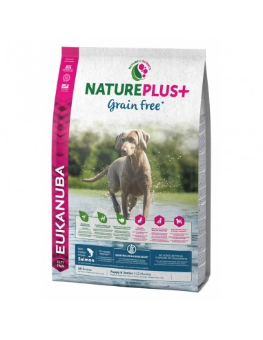 Eukanuba Nature Plus Grain Free Canine Puppy Salmón