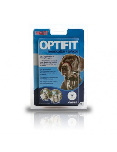 Bozal Halti Optifit anti- tirones acolchado