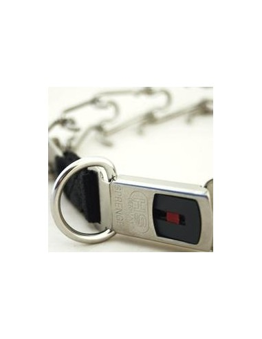 Collar Sprenger Ultra Plus Acero Inox Cierre Clicklock