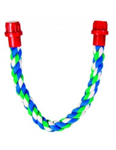 Perchas Cuerda Multicolor, Algodón