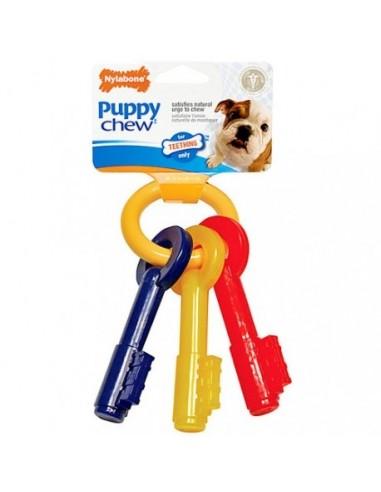 Llavero Nylabone Puppy mordedor para cachorros