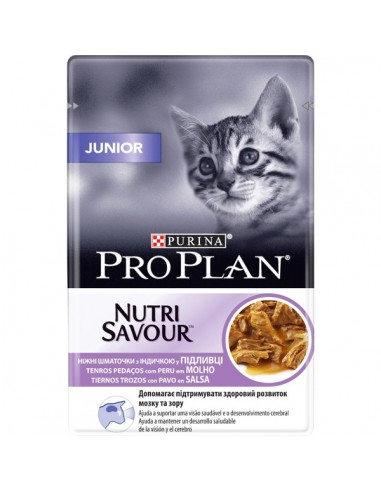 Purina Nutri Savour Junior Húmedo.