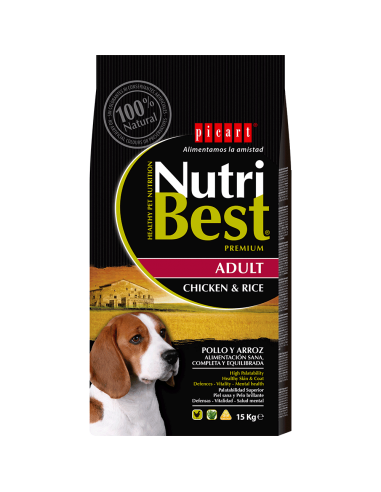 Picart Nutribest Adult Pollo & Arroz