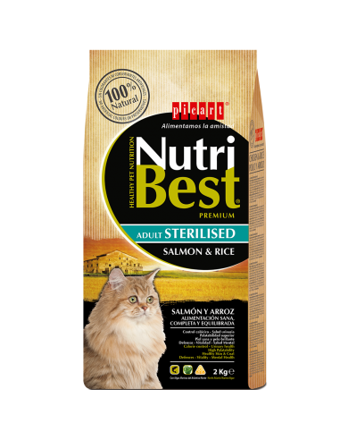 Picart Nutribest Cat Sterilised Salmón & Arroz