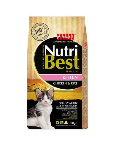Picart Nutribest Cat Kitten Pollo & Arroz