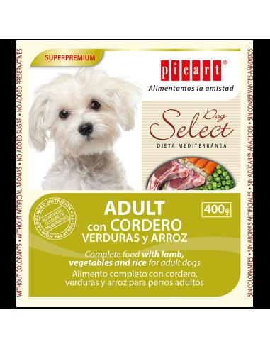 Picart Select Adult Lata Cordero, Verduras y Arroz