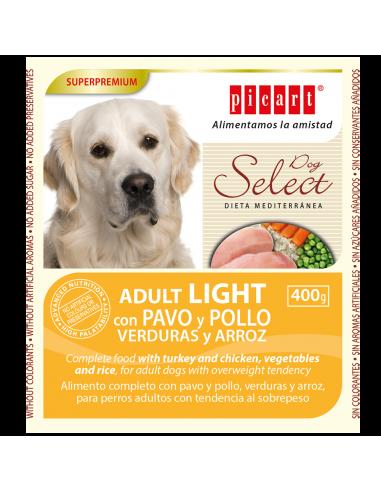 Picart Select Adult Lata Pavo, Verduras y Arroz