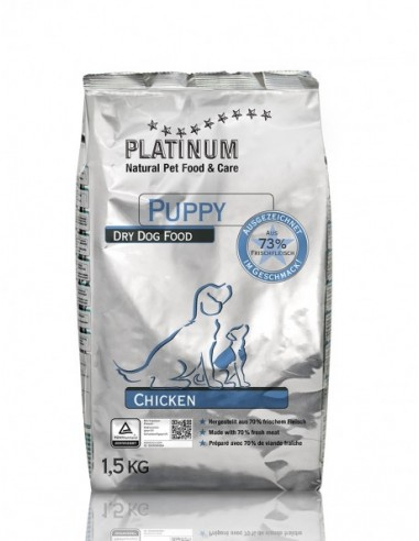Platinum Natural Puppy Pollo