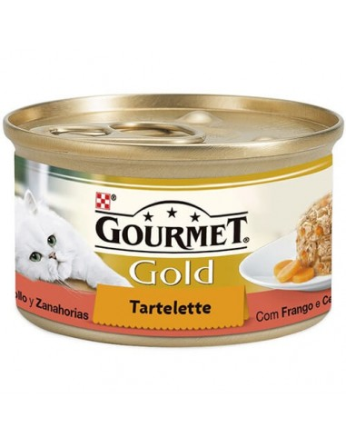 Purina Gourmet Gold Tartallette con pollo y zanahoria