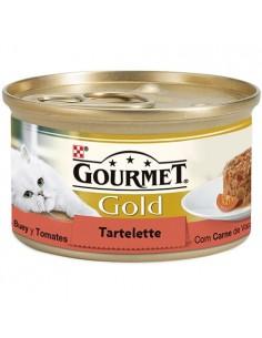 Purina Gourmet Gold Tartalette con buey y tomate