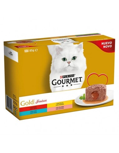 Purina Gourmet Gold Doble Fondant Multipack