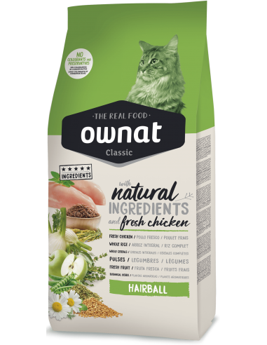 Pienso Ownat Classic Cat Hairball