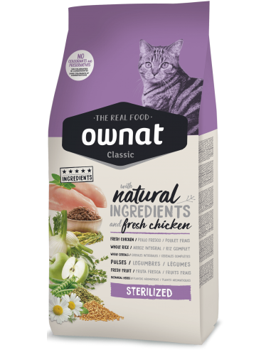 Pienso Ownat Classic Cat Sterilized