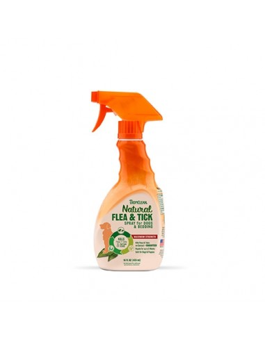 Spray Antiparasitario Tropiclean Flea & Tick