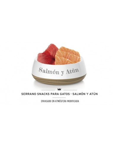 Snacks Serrano Mediterranean Anti Hair Ball Salmon & Tuna