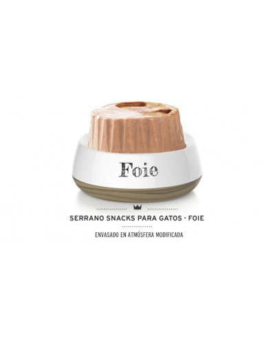 Snacks Serrano Mediterranean Anti Hair Ball Foie - Liver